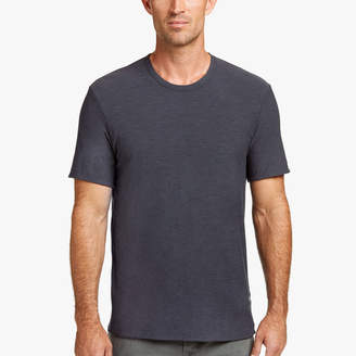 James Perse SPACED JERSEY DOUBLED TEE