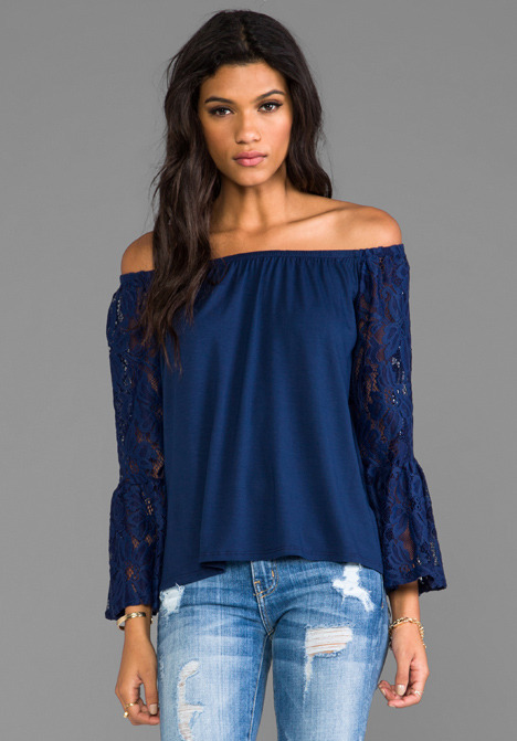 VAVA by Joy Han Skyler Off the Shoulder Top
