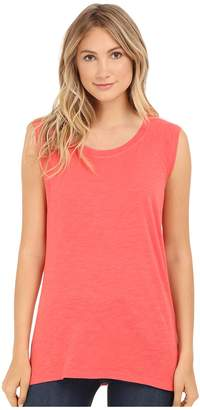Allen Allen Sleeveless Tee Stripe Back Women's Sleeveless