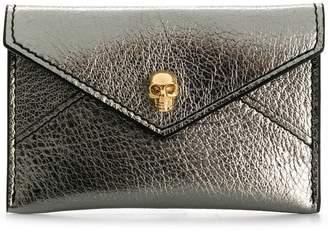 Alexander McQueen Skull Envelope card holder