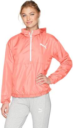 Puma Women's Spark 3/4 Zip Windbreaker