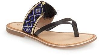 Callisto 'Anjul' Beaded Flip Flop $89.95 thestylecure.com