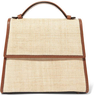BEIGE Hunting Season - Canvas And Leather Tote
