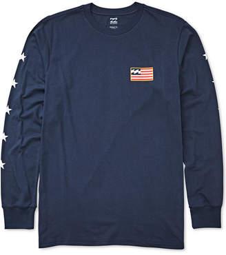 Billabong (ビラボン) - Billabong Men Washington Logo Graphic T-Shirt