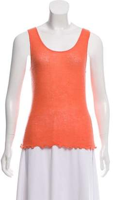 Magaschoni Sleeveless Cashmere Sweater w/ Tags