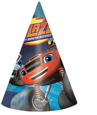 Blaze And The Monster Machines 8 Pack Party Hats Card Accessories