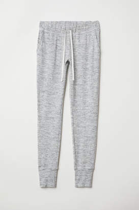 H&M Jersey Joggers - Gray