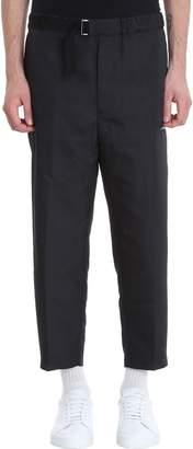 Oamc Black Cotton Pants