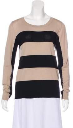 Akris Punto Striped Crew Neck Sweater w/ Tags