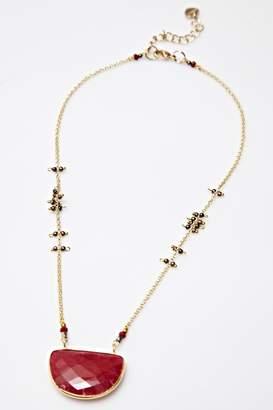 Nakamol Half Moon Necklace