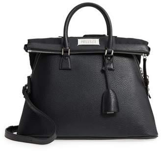 Maison Margiela Large 5AC Leather Handbag