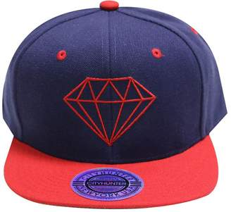 Hunter City Cf918t Acrylic Diamond Snapback Caps Multi Colors