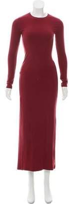 Reformation Rib Knit Maxi Dress