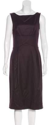 Alexander McQueen Virgin Wool Sleeveless Dress w/ Tags