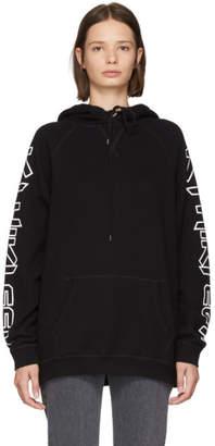 R13 Black Oversized Hoodie