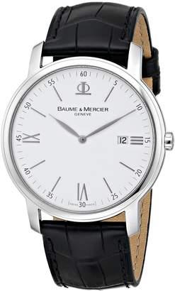 Baume & Mercier Baume Mercier Men's Classima Swiss Date Watch A8485