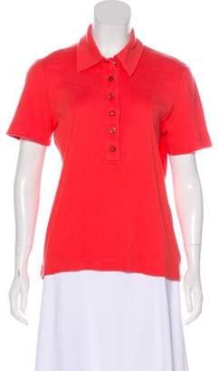 Tory Burch Button Up Polo Shirt