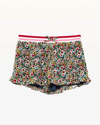 Juicy Couture Floral Frenzy Georgette Ruffle Short for Girls