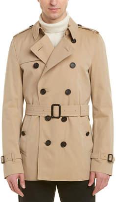 Burberry Sandringham Short Trench Coat