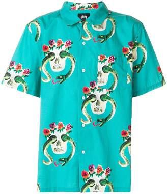Stussy printed shortsleeved shirt