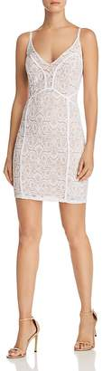 GUESS Lush Lace Body-Con Dress