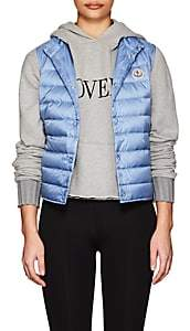 Moncler Women's Liane Down Tech-Taffeta Vest - Sky Blue