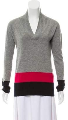 Tomas Maier Cashmere Colorblock Sweater