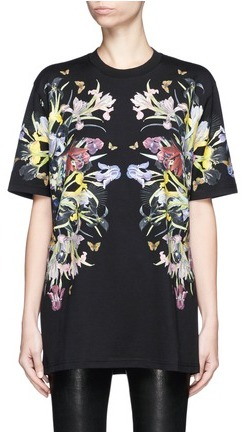 Givenchy Paradise flower print jersey T-shirt