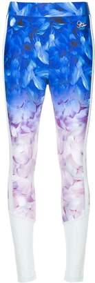 Sophia Webster Puma X ombré floral-print mesh leggings