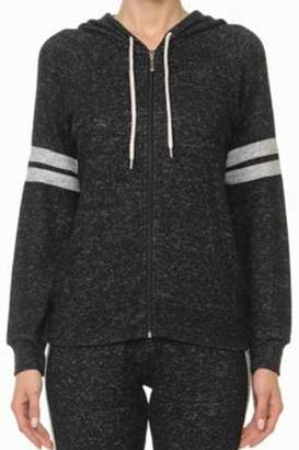 Ambiance Brushed Zip-Up Hoodie