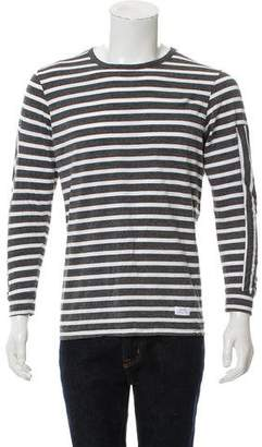 Stampd Striped Long Sleeve Top