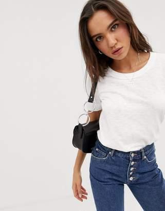 Whistles Rosa double trim t-shirt