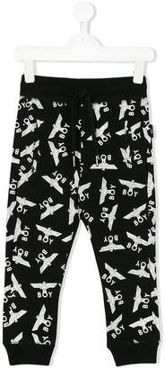 Boy London Kids all over print jogging pants