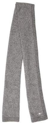 Lacoste Metallic Open Knit Scarf w/ Tags