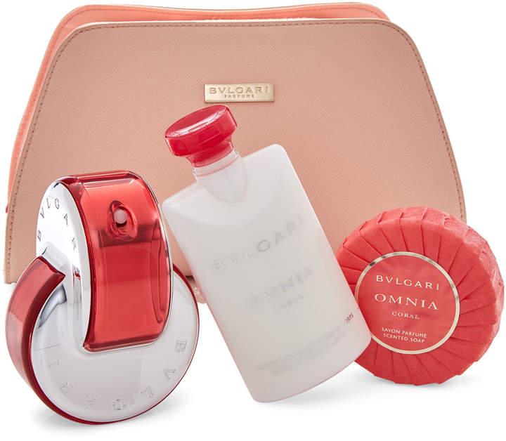 Bvlgari Omnia Coral 4-Piece Fragrance Gift Set