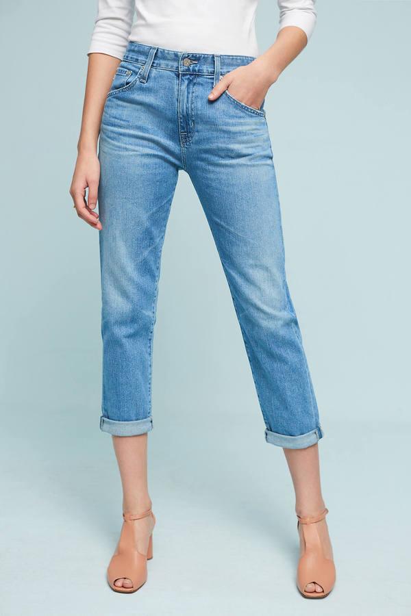 AG JeansAG Ex-Boyfriend Mid-Rise Straight Jeans