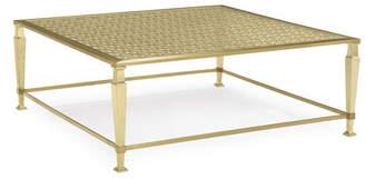 Caracole Johanna Golden Square Coffee Table