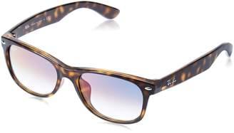 Ray-Ban Men's New Wayfarer (f) Square Sunglasses