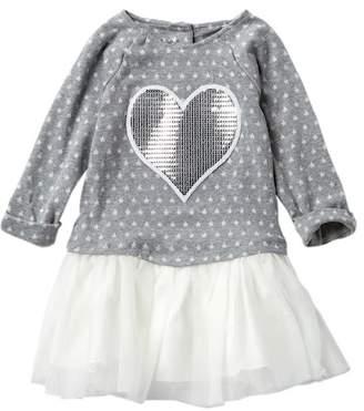 Pippa & Julie Sequin Heart & Star Tutu Dress (Toddler & Little Girls)