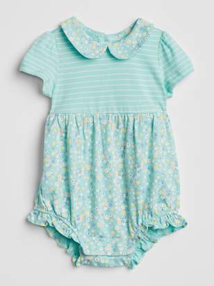 Gap Floral Collar One-Piece