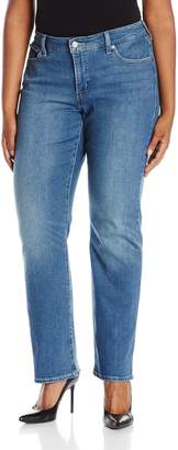 Levi's Women's Plus-Size 414 Relaxed Straight Jean (Plus), Plus, 22 M