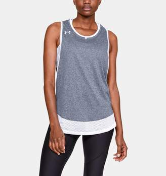 Under Armour Women's UA Locker Muscle Tank