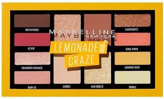 Maybelline New York Eyeshadow Palette Makeup Lemonade Craze 0.26oz