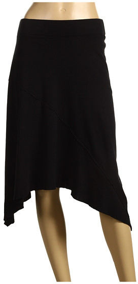 Michael Stars - Supima Raw Edge Asymmetrical Skirt
