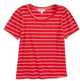 Ten Sixty Sherman Stripe Stretch Cotton Tee