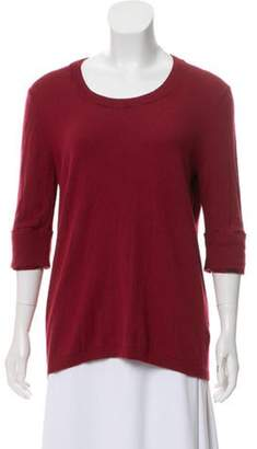 Burberry Cashmere-Blend Scoop Neck Sweater Cashmere-Blend Scoop Neck Sweater