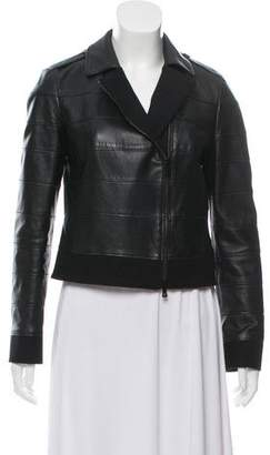 Tory Burch Leather Casual Jacket