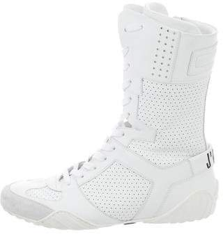 Christian Dior 2017 D-Fence High-Top Sneakers