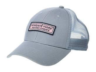 26608911a9c78 Vineyard Vines Logo Box Low Profile Trucker