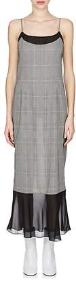 Maison Margiela Women's Crepe-Detailed Wool-Blend Cami Midi-Dress